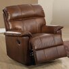 Home & Haus Solenson Leather Layflat Recliner Chair