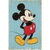 NEXT! BY REINDERS Mickey Mouse Retro Wall Art