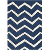 Safavieh Newton Hand-Tufted Navy/Ivory Area Rug