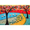 Marmont Hill Idyllic Series I' Art Print Wrapped on Canvas