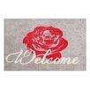 Pedrini LifeStyle-Mat Welcome Rose Doormat