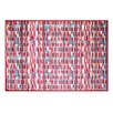 Pedrini LifeStyle-Mat Rectangles Rug, Multi-Coloured