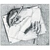 House Additions 'Drawing Hands, 1948' by Escher Art Print Plaque