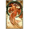 "House Additions ""Dance"" by Mucha Art Print Plaque"