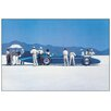 House Additions 'Bluebird at Bonneville' by Vettriano Art Print Plaque
