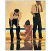 "House Additions ""Narcissistic Bathers"" by Vettriano Art Print Plaque"