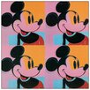 """House Additions """"Mickey Mouse"""" by Warhol Vintage advertisement Plaque"""