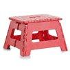 Zeller Plastic Padded Folding Chair