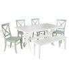 Beachcrest Home Medulla 6 Piece Dining Set