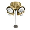 Kichler Turtle 4-Light Branched Ceiling Fan Light Kit