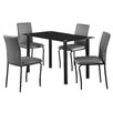 Home & Haus Bentley Dining Set with 4 Chairs