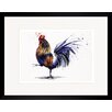 House Additions Rooster Framed Art Print