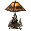 "Meyda Tiffany Buffalo 21"" Table Lamp"
