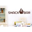 Cut It Out Wall Stickers Snack Bar with Big Cupcake Wall Sticker