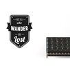 Cut It Out Wall Stickers Not All Who Wander Are Lost Wall Sticker