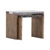 Homestead Living Skrollan 2 Piece Side Table Set