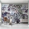 Komar Shades 2.54m L x 368cm W Floral and Botanical Tile/Panel Wallpaper