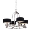 Quoizel Uptown 4 Light Drum Chandelier
