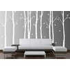 Innovative Stencils Birch Tree Forest Branches Wall Decal