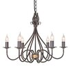 Elstead Lighting Windermere 6 Light Candle-Style Chandelier