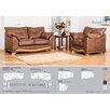 Home & Haus Lyon 3 Piece Living Room Set