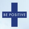Cut It Out Wall Stickers Be Positive Wall Sticker