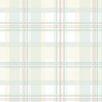 "Norwall Wallcoverings Inc Abby Rose III 32.7' x 20.5"" Plaid Wallpaper"