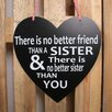 Factory4Home HE-There Is No Better Friend Typography Plaque Set (Set of 4)