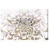 Oliver Gal 'Floralia Blanc' Graphic Art Wrapped on Canvas