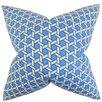 Latitude Run Burditt Geometric Cotton Throw Pillow Cover