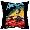 We Love Cushions Pulp Fiction Magazines Scatter Cushion