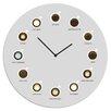 Cuadros Lifestyle Heißgetränke 30cm Analogue Wall Clock