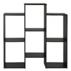 """Wade Logan Rungata Staggered Cube 36"""" Accent Shelves Bookcase"""