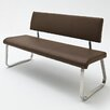 Home & Haus Archie Leather Upholstered Kitchen Bench
