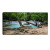 Design Art Tropical Forest Scenery Photographic Print on Wrapped Canvas