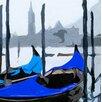 MADEMOISELLE TISS Wandbehang Gondoles Venise Bleue