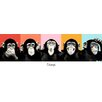 NEXT! BY REINDERS Chimpanzee Compilation Wall Art