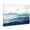 Marmont Hill Mountain Tops Painting Print on Canvas