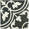 "EliteTile Artea 9.75"" x 9.75"" Porcelain Patterned/Field Tile in Green"