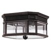 Feiss Cotswold 2 Light Outdoor Flush Mount
