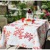 Fleur De Soleil Korale 100% Cotton Tablecloth