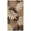 House Additions Oise Brown/Cream Area Rug