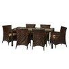 Loon Peak Kohala 7 Piece Dining set with Cushions