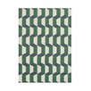 Wildon Home ® Alleez  Hand-Tufted Forest Green Area Rug