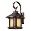 Loon Peak Federal Heights 1-Light Outdoor Wall Lantern