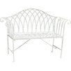 All Home Megrez 2 Seater Steel Garden Bench