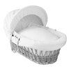 Clair De Lune Honeycomb Moses Basket