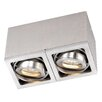 Paul Neuhaus Axena LED 2 Light Flush Ceiling Light