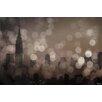 Parvez Taj NY Skyline 8 Graphic Art Wrapped on Canvas