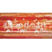 Parvez Taj Durgapur Art Print Wrapped on Canvas